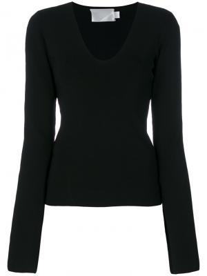 Блузка Orlina Solace. Цвет: чёрный