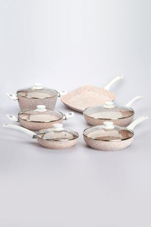 Набор сковородок Bisetti - Stonerose. Цвет: бежевый
