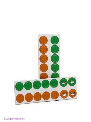 Магнитная настольная игра Шашки. THE PURPLE COW. Цвет: зеленый