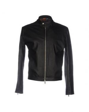 Куртка ROBERTO PEPE. Цвет: черный