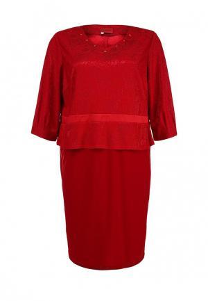 Платье O`Queen. Цвет: бордовый