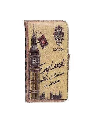 Чехол для IPhone 6 Лондон Mitya Veselkov. Цвет: бежевый, черный, коричневый