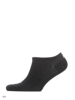 Носки PUMA UNISEX SNEAKER PLAIN 3P. Цвет: серый, белый, черный