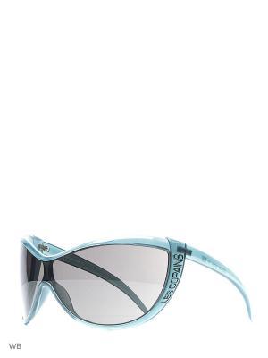 Солнцезащитные очки LC 562 02 Les Copains. Цвет: серый, бирюзовый