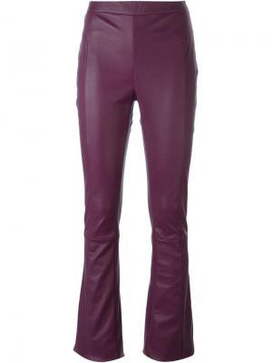 Расклешенные брюки Drome. Цвет: розовый и фиолетовый
