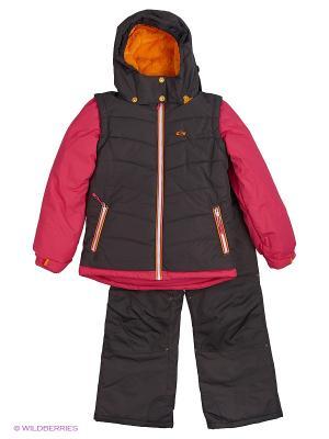 Комплект одежды Gusti. Цвет: розовый, антрацитовый