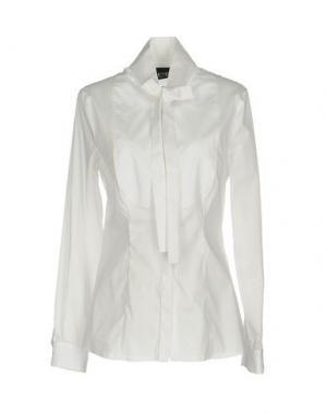 Pубашка PF PAOLA FRANI. Цвет: белый