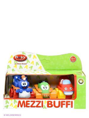Игровой набор Веселые машинки Globo. Цвет: синий, зеленый, красный
