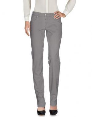 Повседневные брюки LE JEAN DE MARITHÉ + FRANÇOIS GIRBAUD. Цвет: свинцово-серый