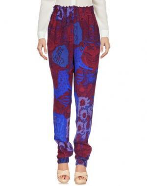 Повседневные брюки RACHEL COMEY. Цвет: красно-коричневый