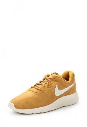 Кроссовки Nike. Цвет: коричневый