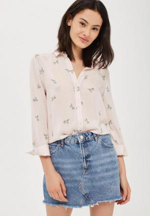 Блуза Topshop. Цвет: розовый