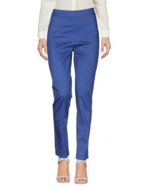 Повседневные брюки SAVE THE QUEEN. Цвет: синий