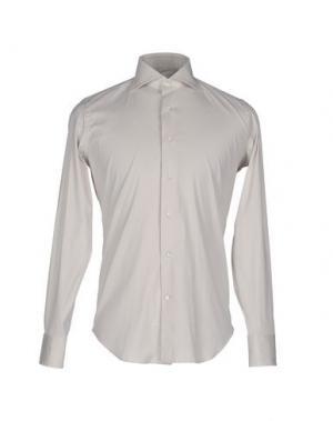 Pубашка LEXINGTON. Цвет: светло-серый