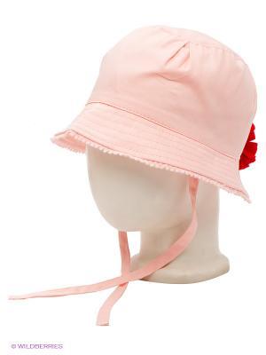 Панама PlayToday. Цвет: бледно-розовый, красный
