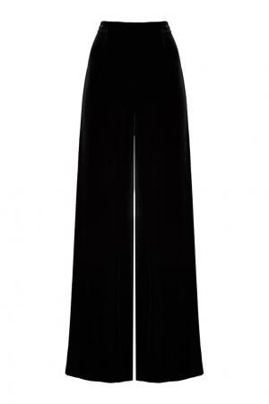 Бархатные брюки-палаццо Roland Mouret. Цвет: none