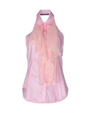 Pубашка LA CAMICIA BIANCA. Цвет: розовый