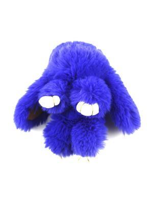 Брелок: заяц 1Azaliya. Цвет: синий