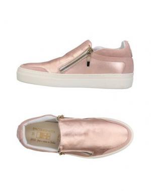 Низкие кеды и кроссовки D'ACQUASPARTA. Цвет: розовый