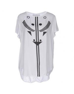 Блузка BRAND UNIQUE. Цвет: белый