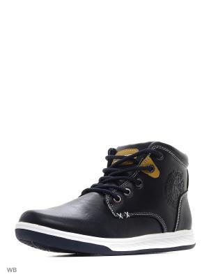 Ботинки QWEST. Цвет: темно-синий