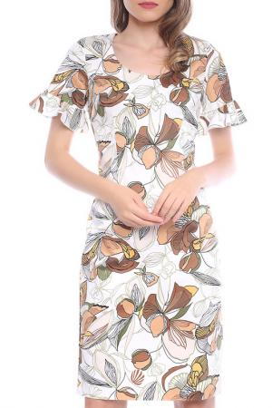 Dress Emma Monti. Цвет: white and brown
