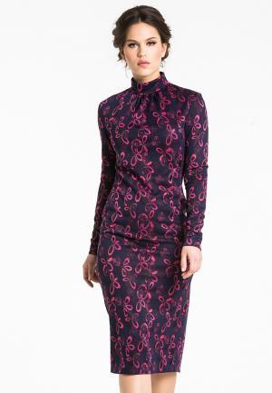 Платье YuliaSway Yulia'Sway. Цвет: разноцветный