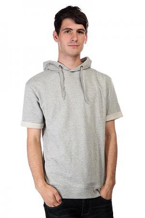 Толстовка  Hood Grey Melange CLWR. Цвет: серый