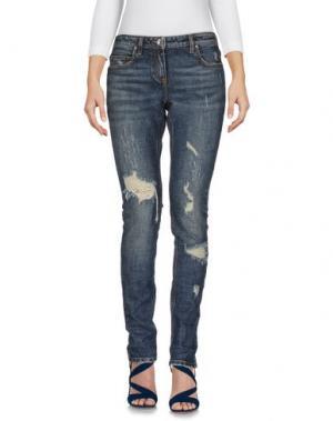 Джинсовые брюки ELEVENTY. Цвет: синий