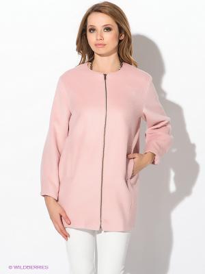 Куртка AX Paris. Цвет: розовый