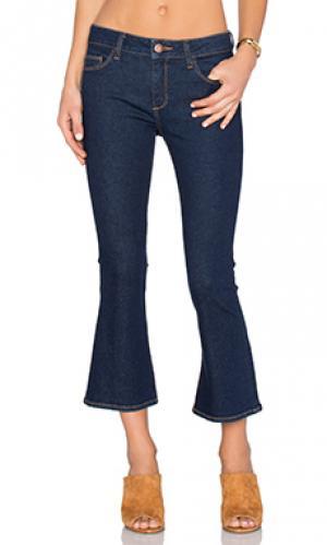 Укороченные джинсы-клеш lara DL1961. Цвет: none