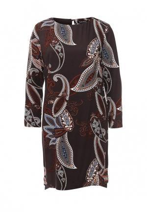 Платье Bestia. Цвет: коричневый