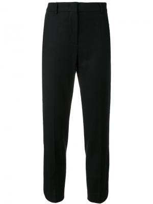 Прямые брюки Sportmax. Цвет: чёрный