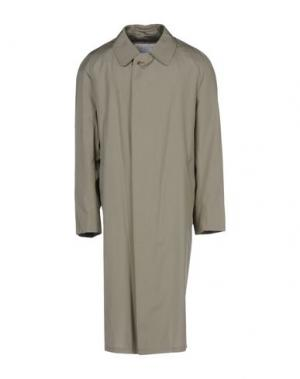 Легкое пальто AQUASCUTUM. Цвет: зеленый-милитари