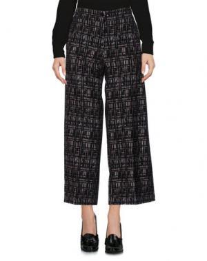 Повседневные брюки MAESTA. Цвет: темно-зеленый