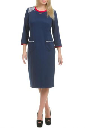 Платье Ламия LESYA. Цвет: синий