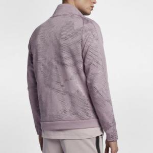 Мужская куртка  Sportswear Tech Fleece Nike. Цвет: розовый