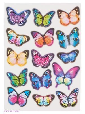 Вечерние бабочки DECORETTO. Цвет: голубой, сиреневый, синий, лазурный