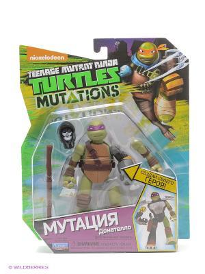 Фигурка Черепашки-ниндзя 12см серия Mutation Донателло Playmates toys. Цвет: зеленый, фиолетовый