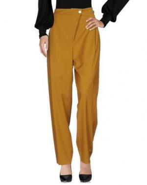 Повседневные брюки MAX & CO.. Цвет: охра