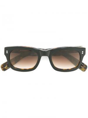 Солнцезащитные очки Ellis Moscot. Цвет: чёрный