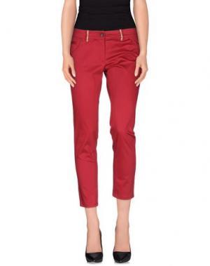 Повседневные брюки ALVIERO MARTINI 1a CLASSE. Цвет: пурпурный