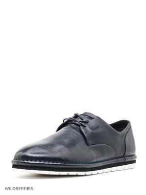 Ботинки Mascotte. Цвет: синий