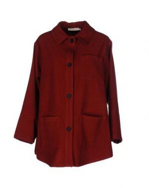 Куртка TROU AUX BICHES. Цвет: кирпично-красный