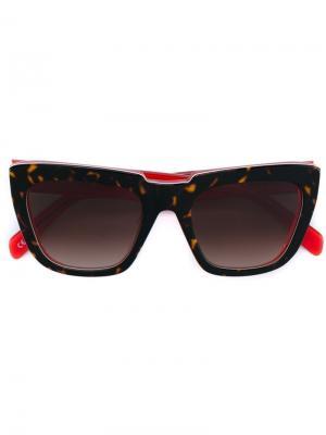 Солнцезащитные очки Apache Zanzan. Цвет: коричневый
