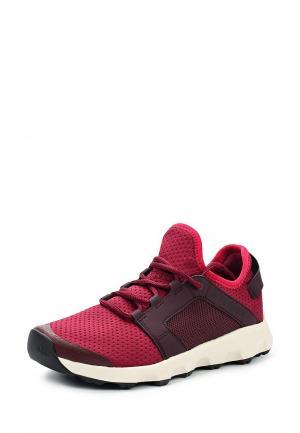 Кроссовки adidas Performance. Цвет: бордовый