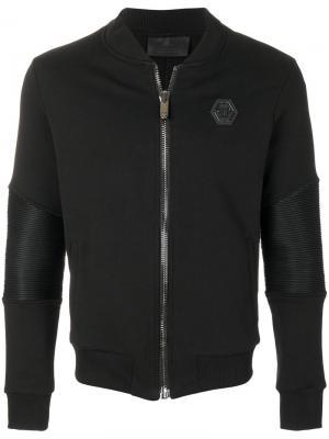 Куртка I Love You Jogging Philipp Plein. Цвет: чёрный