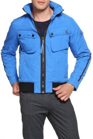 Куртка Strellson. Цвет: голубой
