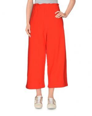 Повседневные брюки AVN. Цвет: коралловый
