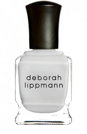 Лак для ногтей Misty Morning Deborah Lippmann. Цвет: бесцветный